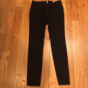 Rag & Bone Black Jeans 28